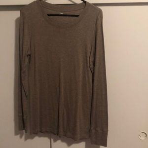 COPY - Gap Brown long sleeve tshirt top